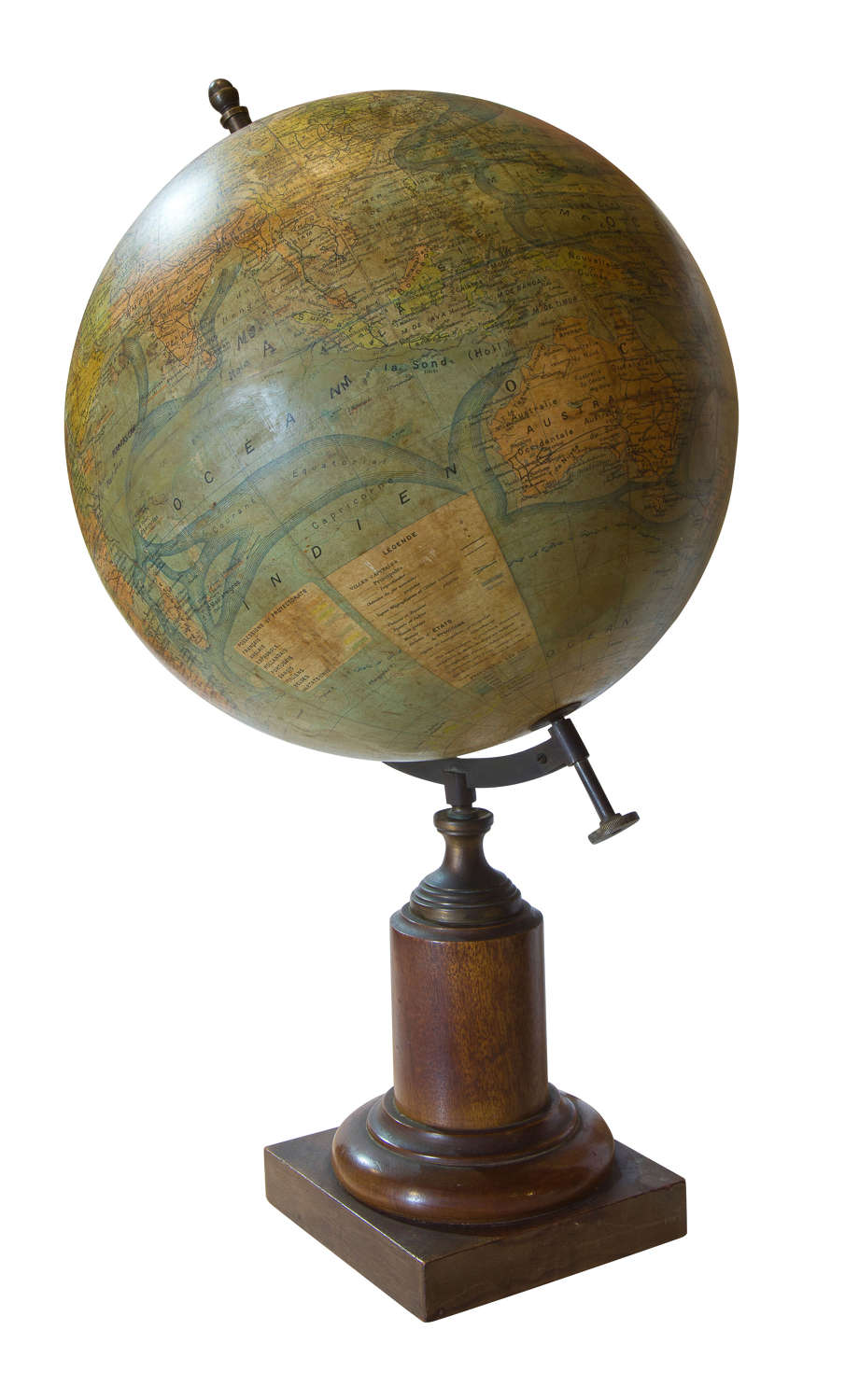 French table globe