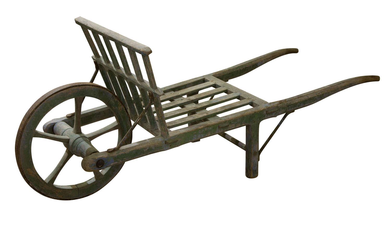 A French vintage trolley / wheel barrow
