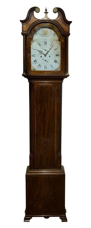 Mahogany 8 Day Scottish Longcase Clock