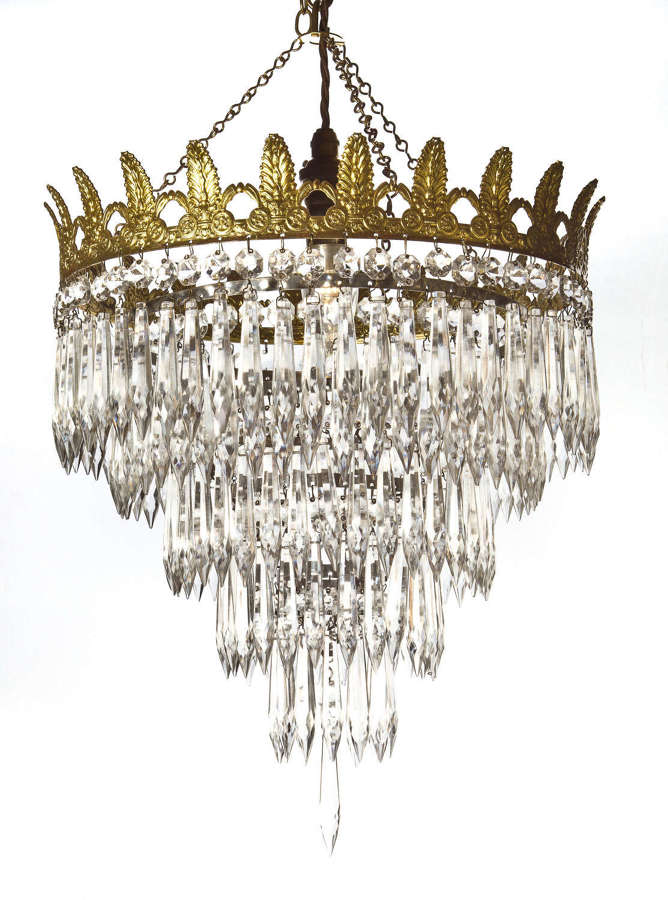 4 Tier icicle Chandelier