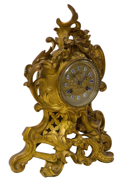 A Fine Quality Rococo French Mantel Clock