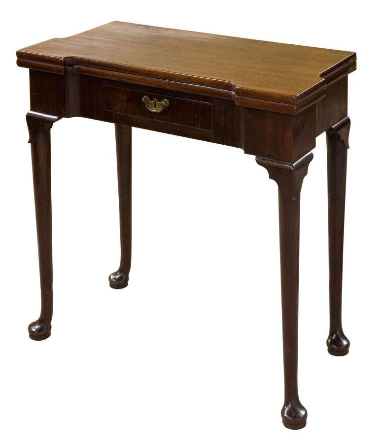 George II Mahogany Tea Table